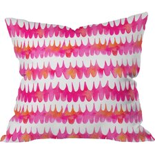 Betsy Olmsted Owl Feather Indoor/Outdoor Throw Pillow by DENY Designs