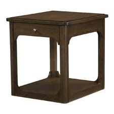 Facet End Table by Hammary