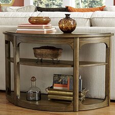 Facet Console Table by Hammary