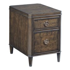 Grantham Hall Chairside Table by Hammary