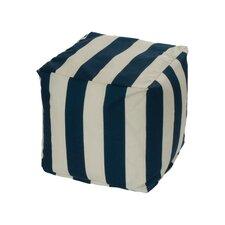 Limestone Bean Bag Cube Ottoman by Breakwater Bay