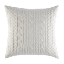 Ella Cable Knit Decorative Throw Pillow