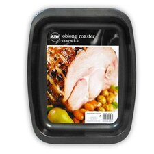 25.7cm Non-Stick Oblong Roasting Tin
