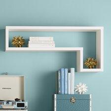 Erica L-Shaped Floating Shelf by Zipcode Design