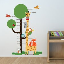 Animal Measurement Wall Sticker