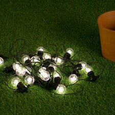 Festoon 20 Light LED Globe String Lights