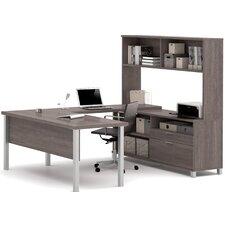 Ariana 4-Piece U-Shape Desk Office Suite