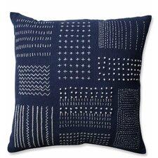 Tribal Sampler 100% Cotton Throw Pillow