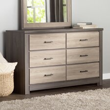Lawson 6 Drawer Double Dresser by Andover Mills