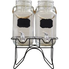 Ardin 3 Piece 1 Gal Beverage Dispenser Set