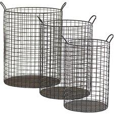 Emington Tall Cylinder Wire Storage Bins