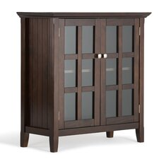 Acadian 2 Door Storage Cabinet by Simpli Home