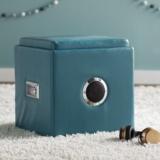 Winchester Leather Speaker Ottoman by Zipcode Design