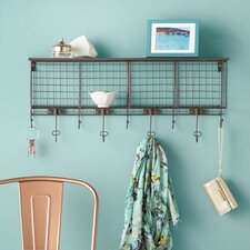 Halina 4 Cubby Wall Shelf
