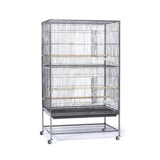 Flight Bird Cage with Storage Shelf