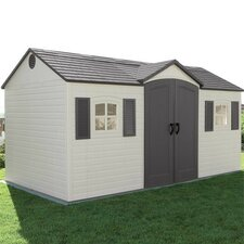 15 x 8 Plastic Storage Shed