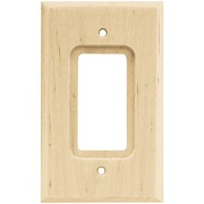 Single Decorator Wall Plate