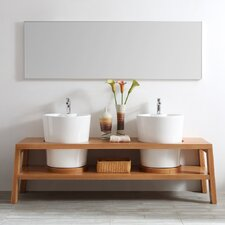 Lecce 78 Double Vanity Set with Mirror by Vinnova