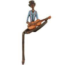 Sitting Jazz Band Strings Figurine