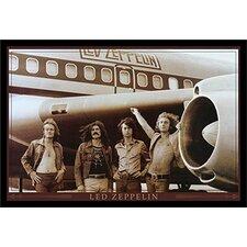 'Led Zeppelin the Starship Airplane 'Framed Photographic Print