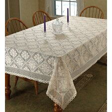 Stars Crochet Tablecloth