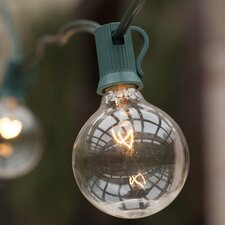 25-Light Globe String Lights