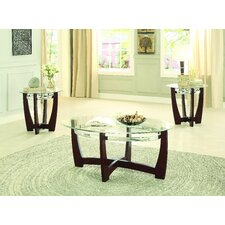 Catalina 3 Piece Coffee Table Set by Latitude Run