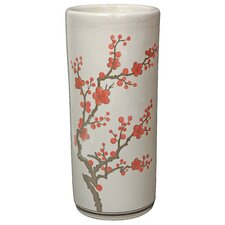 Cherry Blossom Umbrella Stand by Oriental Furniture