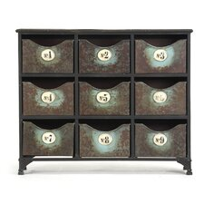 Iron Accent Cabinet by Zentique Inc.