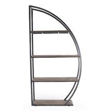 Dian Display 85 Accent Shelves Bookcase by Zentique Inc.