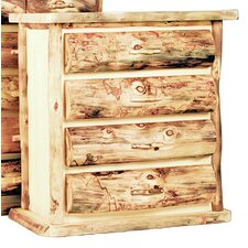 Aspen Heirloom 4 Drawer Lingerie Chest by Mountain Woods Furniture