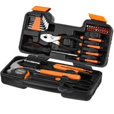 39 Piece General Household Hand Tool Kit