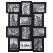 Collage Wooden 12 Picture Frame