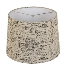 "15"" Linen Drum Lamp Shade"