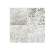 """Silver Galaxy 6"""" x 6"""" Marble Tile Polished"""