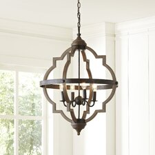 Donna 4-Light Hall Pendant