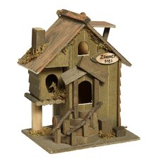Zimmer Frei 21cm x 17cm x 14cm Birdhouse