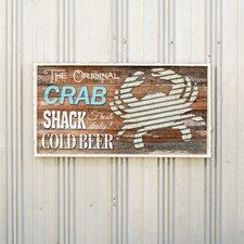 Crab Shack Wall Décor