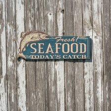 Fresh Seafood Wall Décor