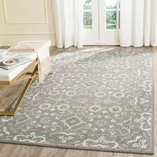 Best place to buy Kilbourne Hand-Tufted Gray Area Rug