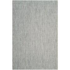 Estella Gray / Navy Indoor/Outdoor Area Rug