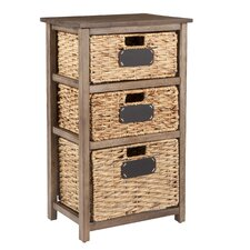 Lavender 3 Drawer Storage by August Grove