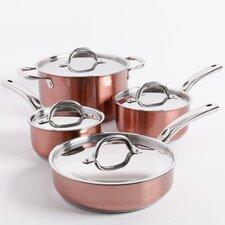 Brookfield 8 Piece Stainless Steel Cookware Set