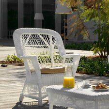 Synthetic Fibre with Rattan Structure Chair