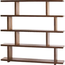 "Raney 63"" Accent Shelves Bookcase"