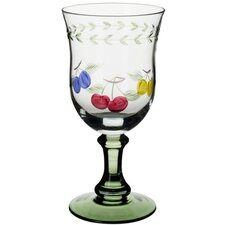 French Garden Water Goblet (Set of 4)