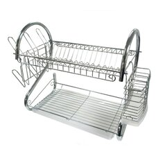 "22"" Chrome Dish Rack"