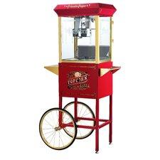 Princeton 8 Oz. Antique Popcorn Machine with Cart