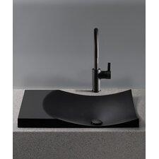 Waza Noir Self-Rimming Bathroom Sink by Toto