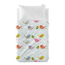 Little Birds 2-Piece Cot Bedding Set
